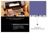 MARQUAGE AU POCHOIR - Tiflex