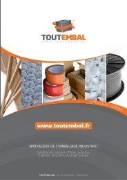 Catalogue 2011 - Emballages et caisses carton Toutembal