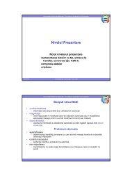 Curs 11 (partea 1) - Nivelul prezentare, criptografie [pdf] - derivat