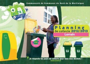 Lorrain - Communauté de communes du Nord Martinique
