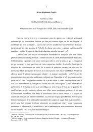 D'une hégémonie l'autre - Association Française d'Economie Politique