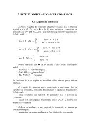 Curs 3 - Bazele logice ale calculatoarelor - derivat