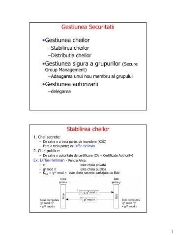 Gestiunea securității [pdf] - Andrei