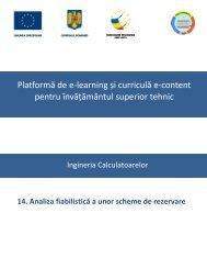 14. Analiza fiabilistică a unor scheme de rezervare [pdf]