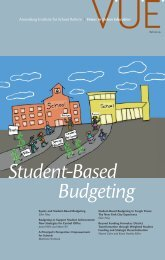 Student-Based Budgeting - Voices in Urban Education - Annenberg ...