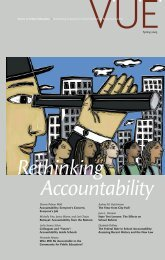 Rethinking Accountability - Voices in Urban Education - Annenberg ...