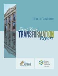 Central Falls Transformation Report - Annenberg Institute for School ...