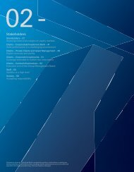 Stakeholders (PDF) - Deutsche Bank Annual Report 2012