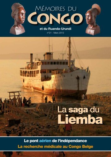 Revue n° 21 (pdf - 2.1 MB) - Mémoires du Congo