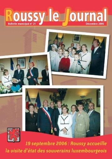 Edition 2006 PDF - Roussy le Village