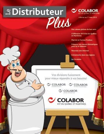 Distributeur - Colabor