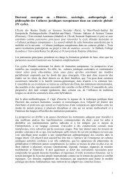 Appel d'offre Doctorat autofinancé - Università di Palermo