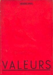 valeurs - Centre d'études alexandrines