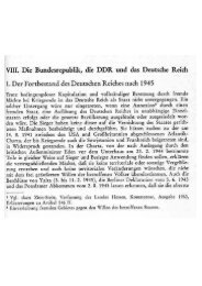 BRD, DDR und Deutsches Reich