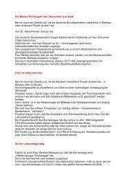 Die Merkel-Politik geht den Deutschen ans Geld Bei mir kommen ...