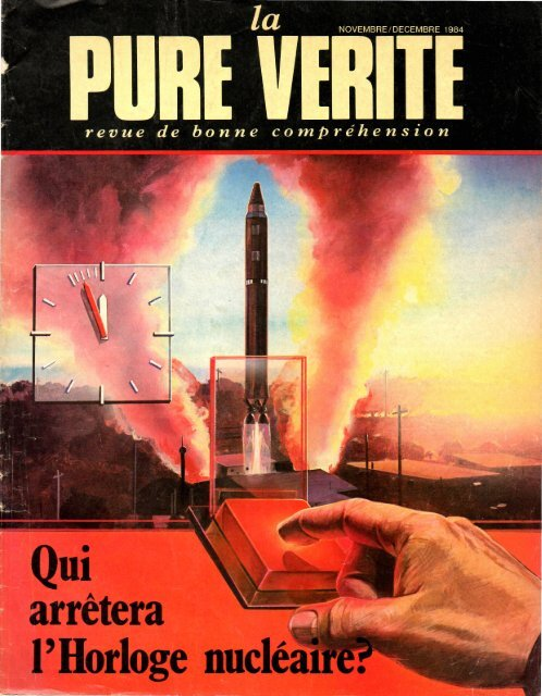 Pure Verite 1984 (No 10) Nov-Dec - Herbert W. Armstrong Library ...