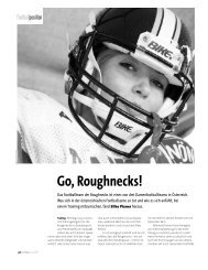 Go, Roughnecks! - an.schläge