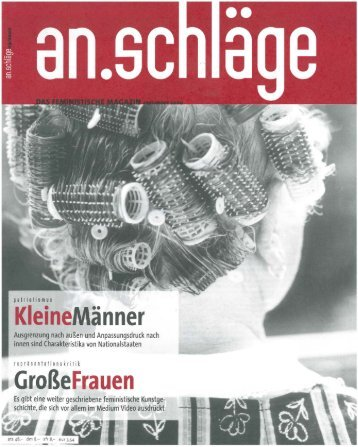 September 2000 (PDF) - an.schläge