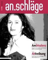 Dezember 2005/Jänner 2006 (PDF) - an.schläge