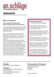 Mediadaten (PDF) - an.schläge