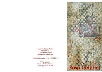 Im Anfang war das Wort - Rosa Gabriel