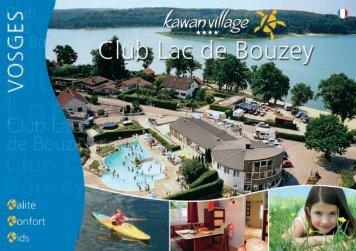 Consultez notre brochure - Camping Club Lac de Bouzey
