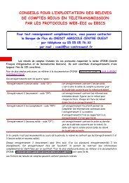 NICE guide paramétrage EDI V3 04 04 13 - Crédit Agricole Centre ...