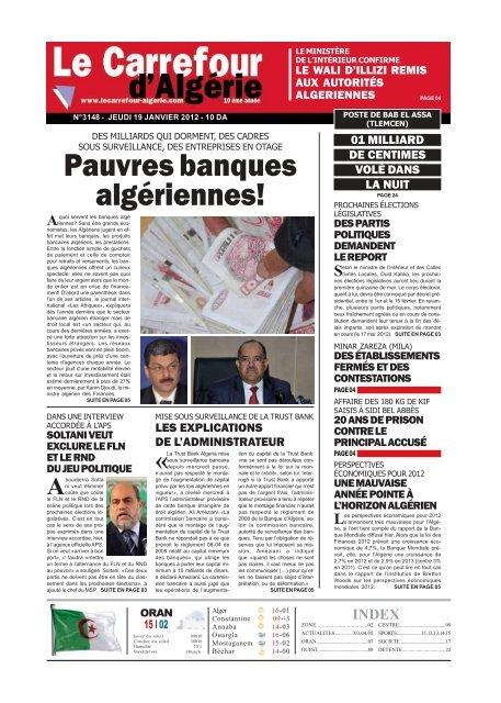 19 - Le Carrefour d\'Algérie