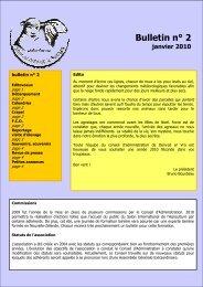 Bulletin n°2 - Denved Ar Vro, moutons des pays de Bretagne