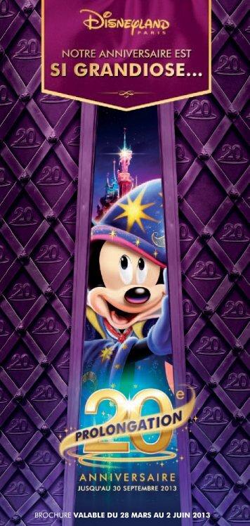Télécharger la brochure - my Disneyland - Disneyland® Paris