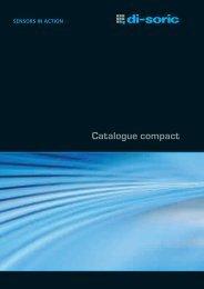 Catalogue compact - Asteel Sensor