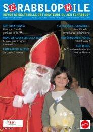 Janvier/Février 2009 - Fédération Suisse de Scrabble