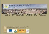 Télécharger la Charte - 1ère partie - Pays Uzège Pont du Gard