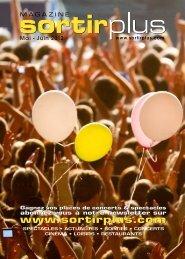 Magazine Sortirplus • Mai-Juin 2012