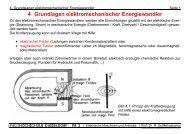 4. Grundlagen elektromechanischer Energiewandler