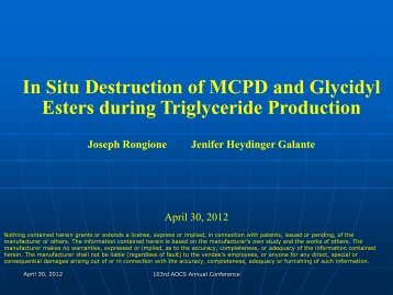 In Situ Destruction Of MCPD And Glycidyl Esters - staging.files.cms ...