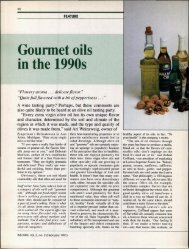 Gourmet oils in the 1990s - staging.files.cms.plus.com