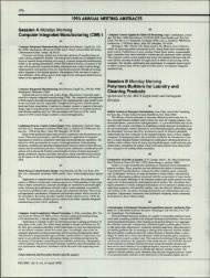 Page 1 .76 .. 1993 ANNUAL MEETING ABSTRACTS Session A ...