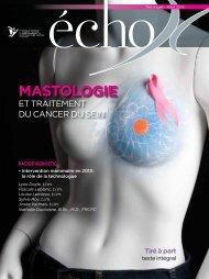 MASTOLOGIE - Programme québécois de dépistage du cancer du ...