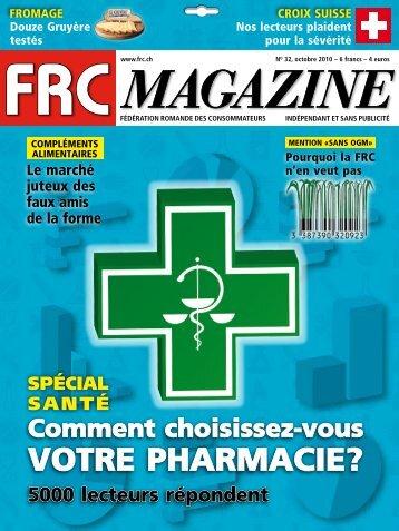 votre pharmaCie? - FRC