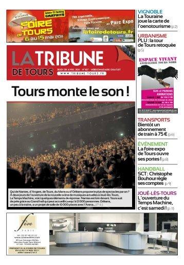 Tours monte le son ! - la Tribune de Tours