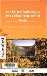 Le sentier écologique de la réserve de M'Bour Sénégal - IRD