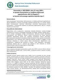 Stanowisko nr 36/11/2009 z dnia 25 maja 2009 r. w sprawie ... - AOTM
