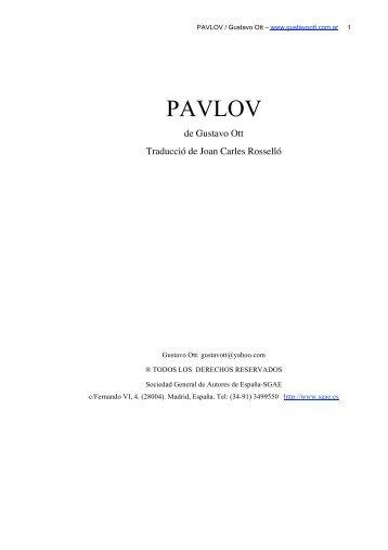 Pavlov CAT - Gustavo Ott