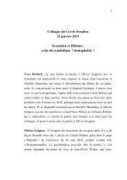 débat Rabant:Winter au CF - Mouvement du coût freudien