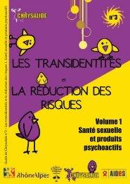 Les transidentités et la réduction des risques - Chrysalide - Free