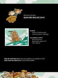 revue de presse 2010.pdf - Quai des bulles