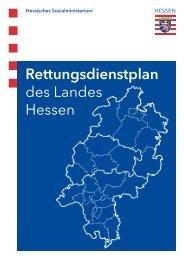 Rettungsdienstplan des Landes Hessen - AOK-Gesundheitspartner