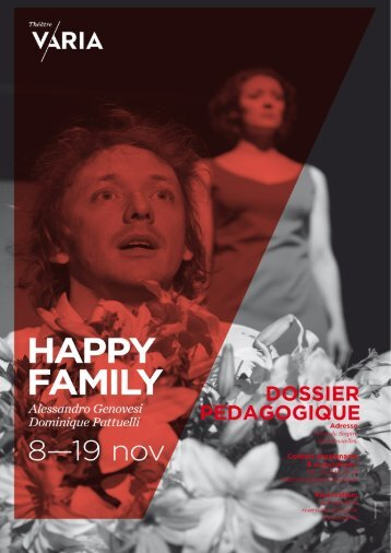 cover happy family - Théâtre Varia