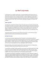 Le Nerf trijumeau